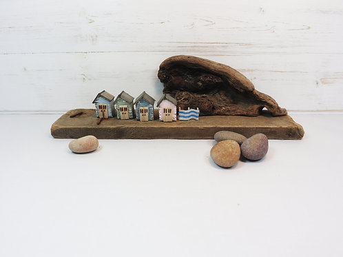 Driftwood Houses - Handmade and Original Sculpture by David from Salty Seas no29