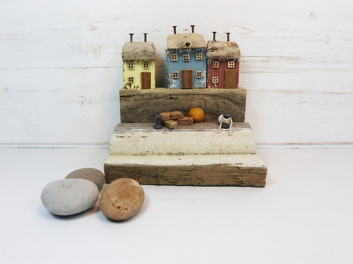 Driftwood Houses - Handmade and Original Sculpture by David from Salty Seas no10