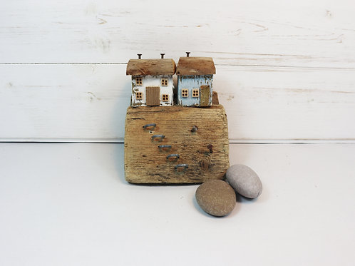 Driftwood Houses - Handmade and Original Sculpture by David from Salty Seas no45