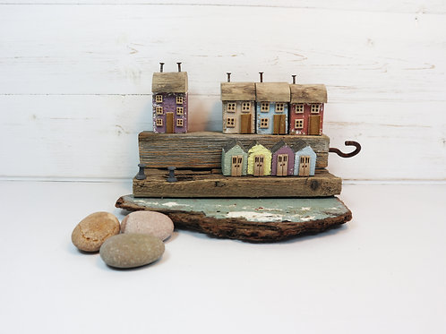 Driftwood Houses - Handmade and Original Sculpture by David from Salty Seas no22