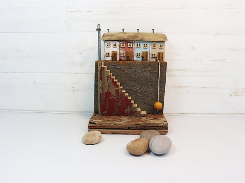 Driftwood Houses - Handmade and Original Sculpture by David from Salty Seas no26