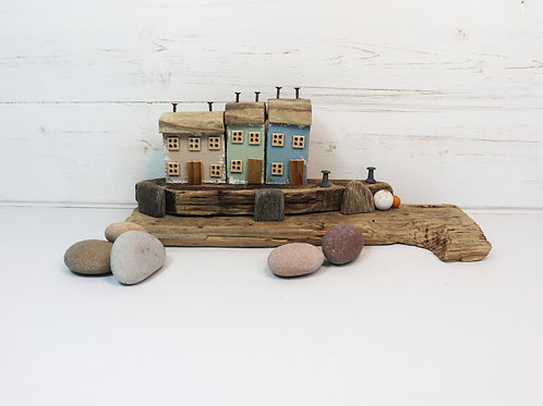 Driftwood Houses - Handmade and Original Sculpture by David from Salty Seas no39