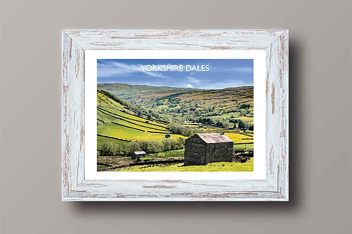 Yorkshire Dales, England - Signed Travel Print by David at Salty Seas