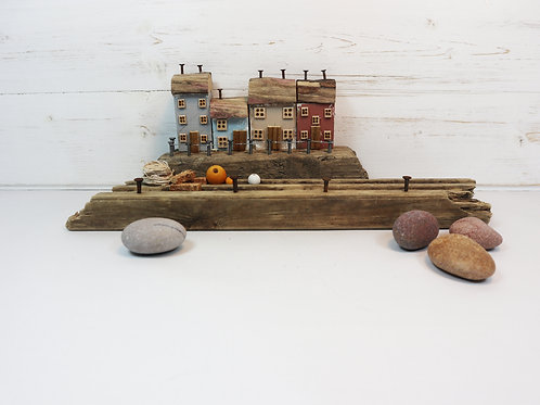 Driftwood Houses - Handmade and Original Sculpture by David from Salty Seas no21