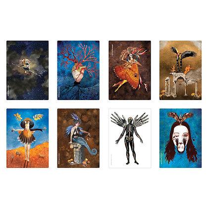 CREATION Liturgy Postcards - set of 8