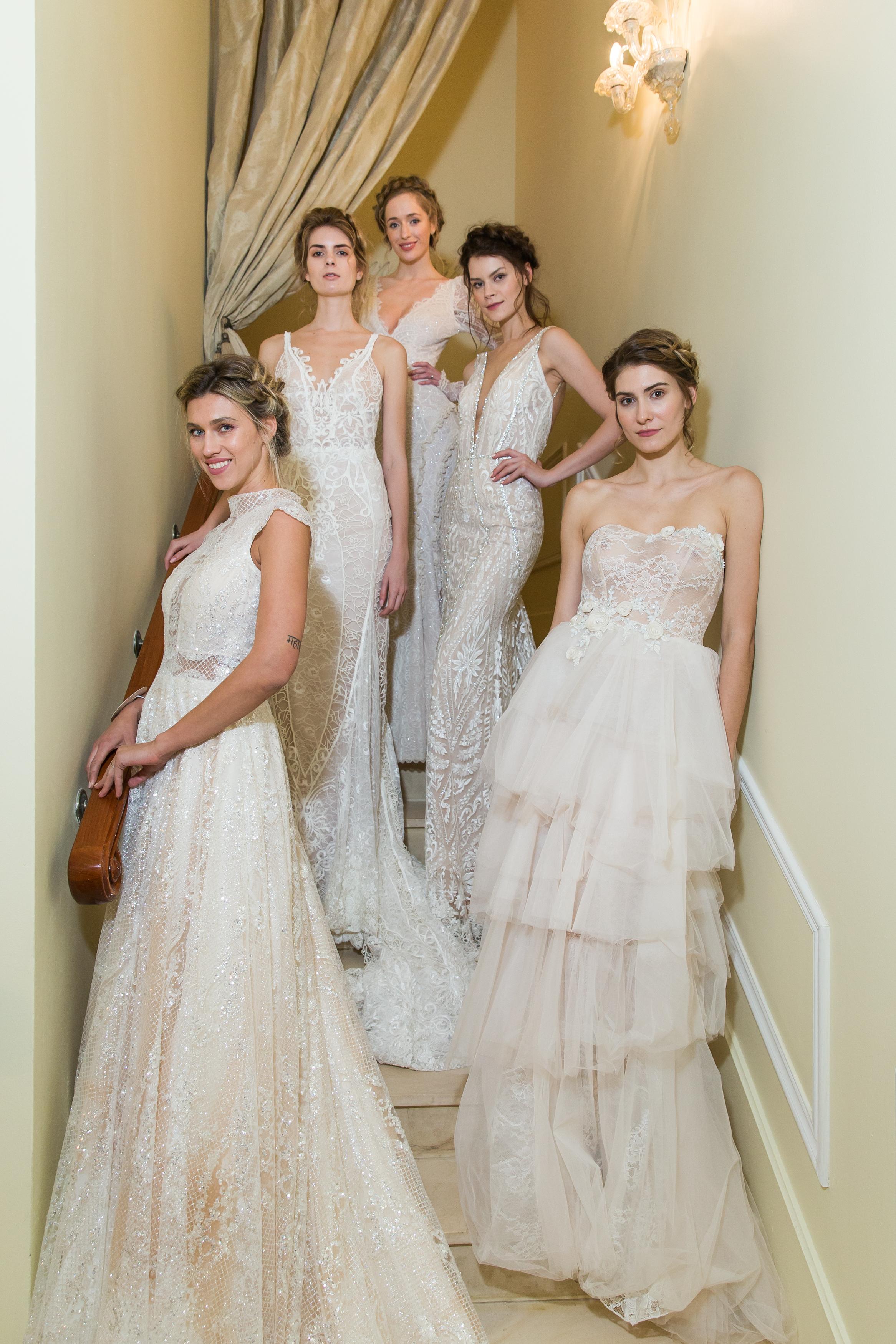 Свадебная коллекция апрель 2018