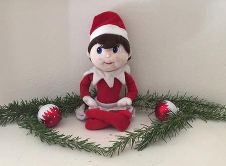 "Meet ""Ty"" our Elf on the Shelf..."