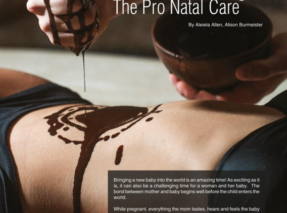 Mother Baby Article-Ayurveda Mantra p.1.