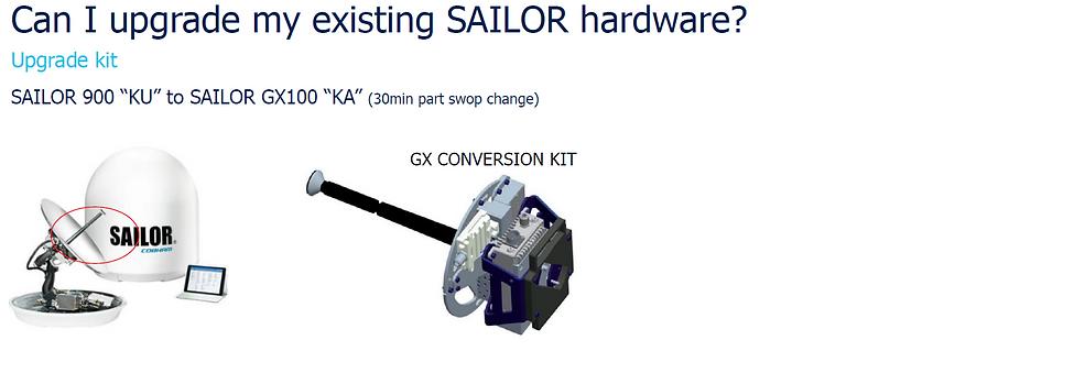 Sailor 900 KU