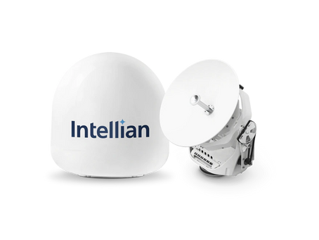 New Intellian v45C Antenna Delivers VSAT Internet to Small Vessels