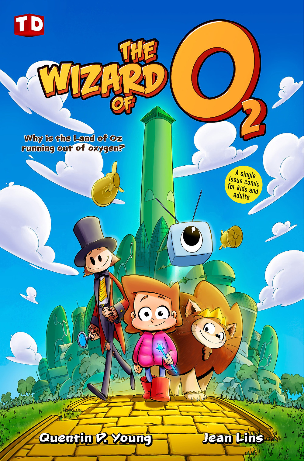 The Wizard of O2 front cover
