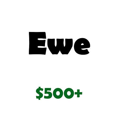 Ewe Level Sponsor