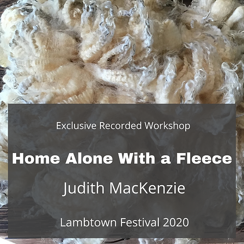 Home Alone With a Fleece - Recorded Workshop