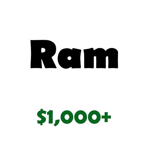 Ram Level Sponsor