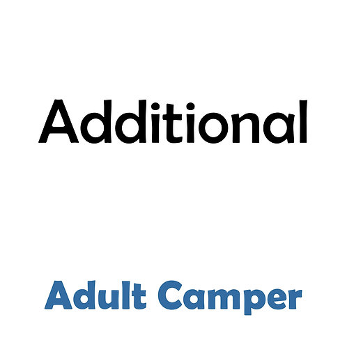 Additional Adult Campers