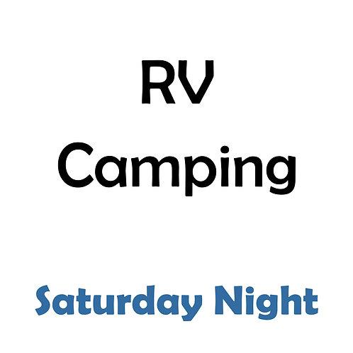 RV Camping - Saturday Night
