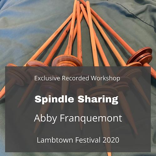 Spindle Sharing - Recorded Workshop
