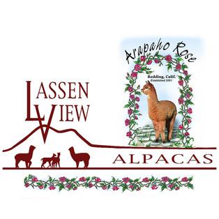 Lassen View and Arapaho Rose Alpacas