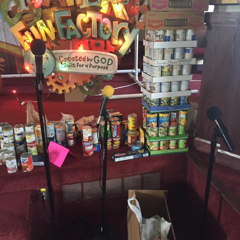 VBS Canned Food Drive