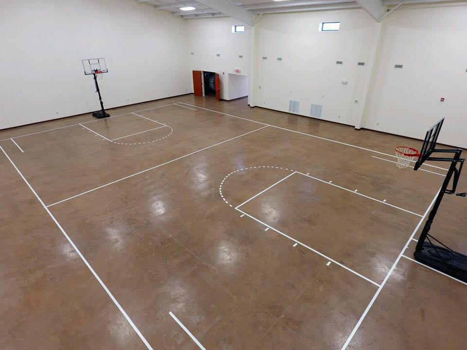 Multi Purpose Room BBall layout