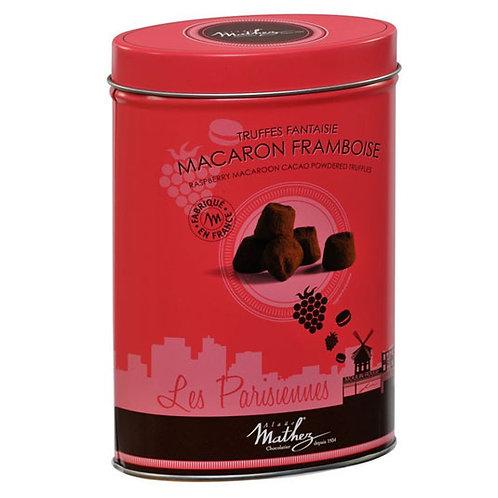 Truffes de fantaisie Macaron  framboise (Трюфель фантазия с  малиновым макарони)