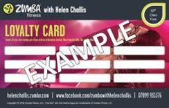 Loyalty Card: Zumba Fitness & Zumba Toning - Tipton, Tividale & Oldbury
