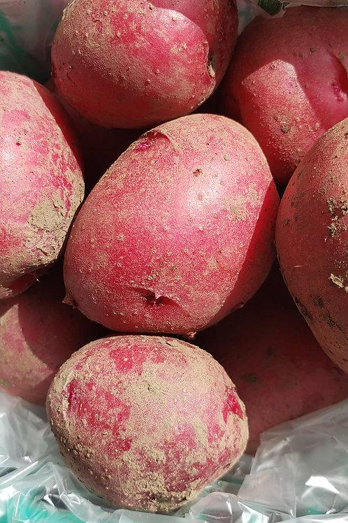 New potatoes, pint basket, small