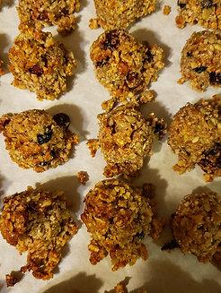 Gluten free granola balls