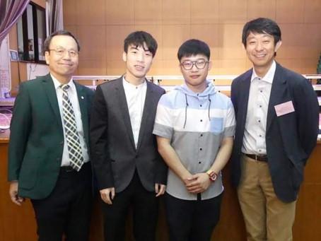 Welcome Dr. Togashi Visiting Hong Kong