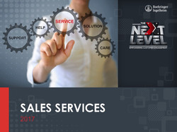 Sales Services PPT Template