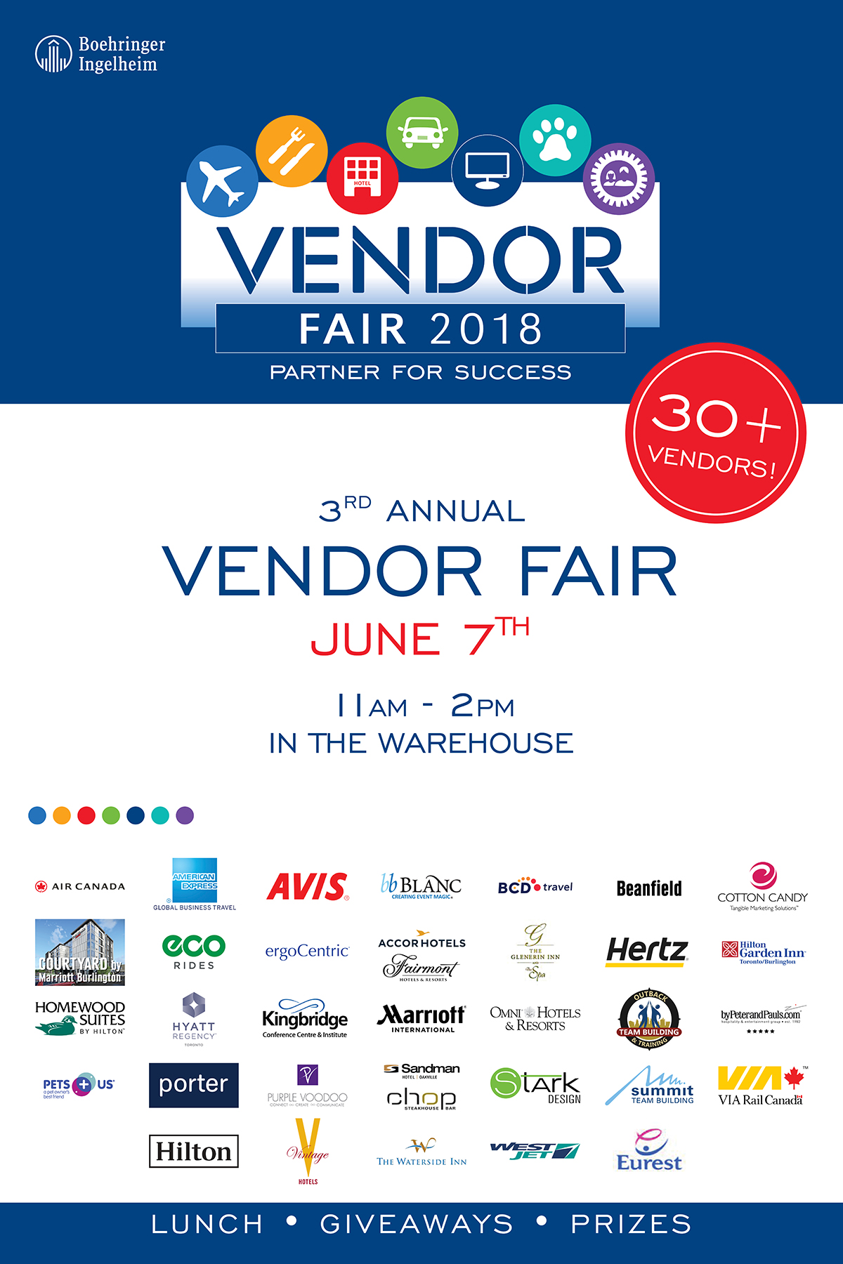 Vendor Fair Invite Poster