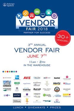 Vendor Fair Invite Poster