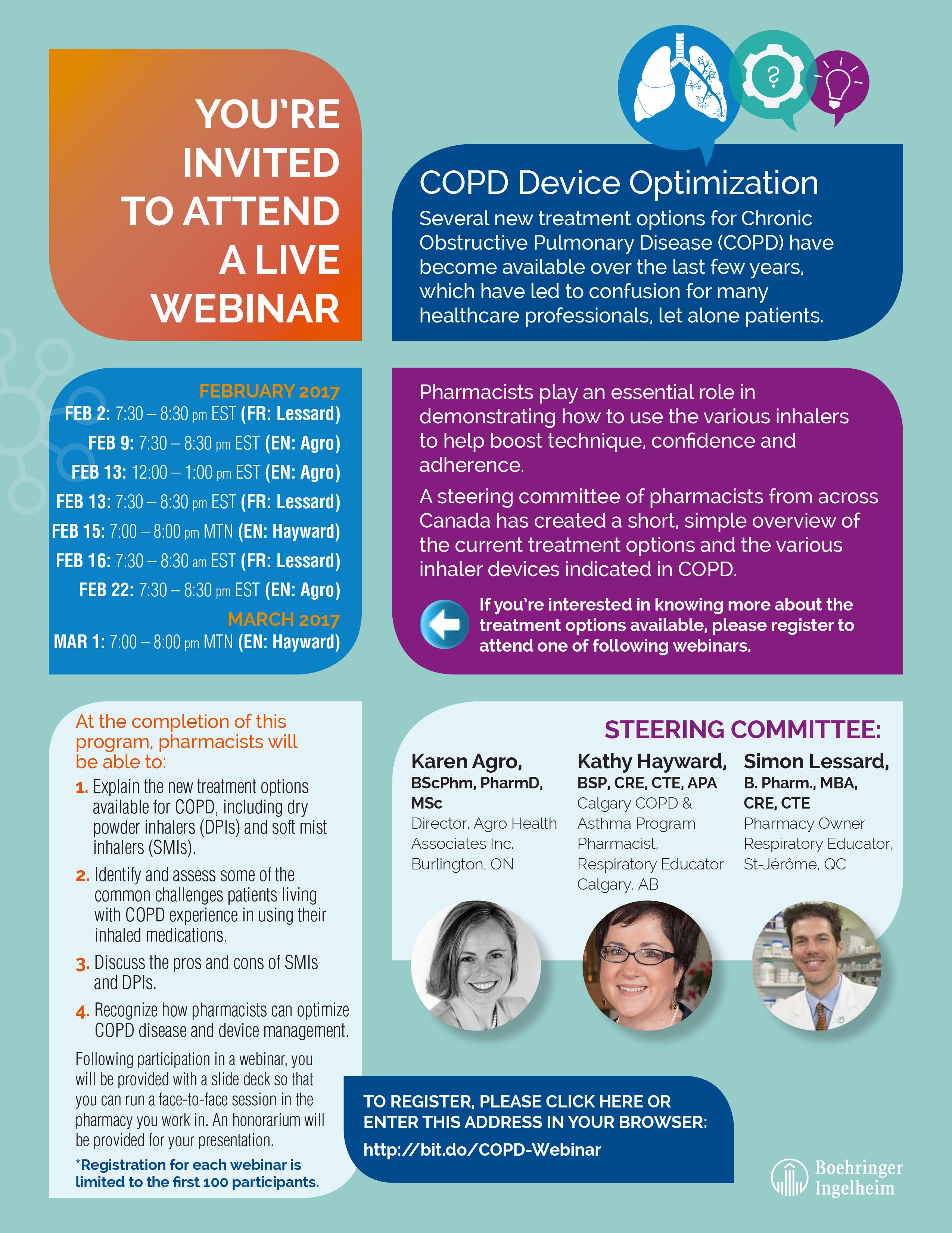 COPD Webinar Invite