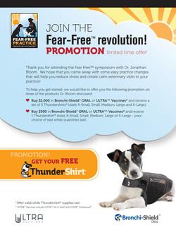 Fear Free Promotion Flyer