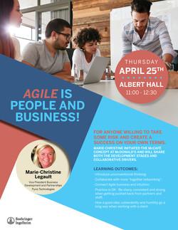Agil Speaker Poster