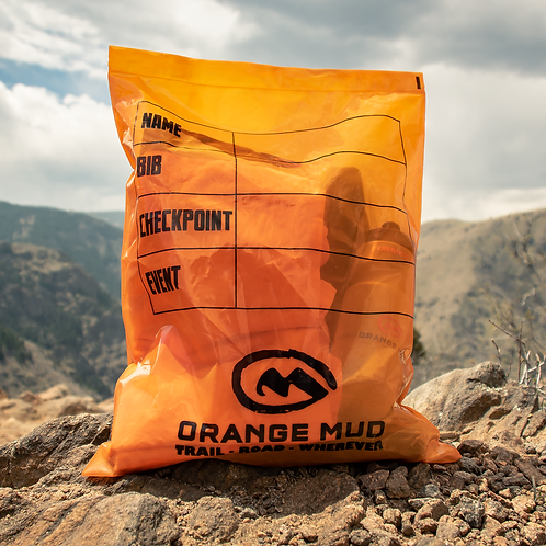 Orange Mud Drop bag