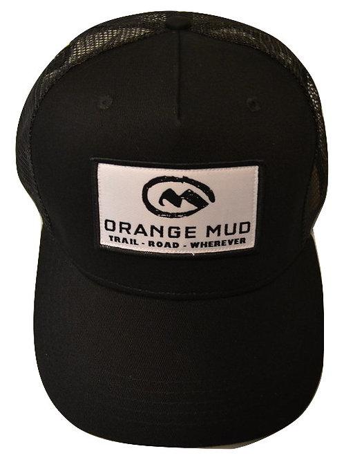 Orange Mud Trucker Hat