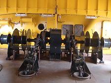 Anchor winch 400V hydraulic