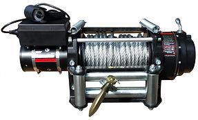 Treuil électrique 12V 24V Warden HD pour véhicules 4x4 dépanneuse remorque engin TP appareil Manufor