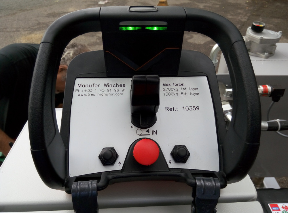 Commande radio proportionnelle pilotage en vitesse variable