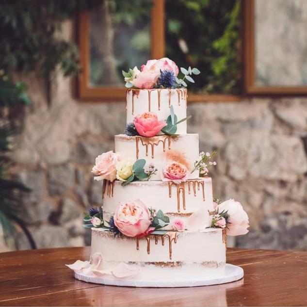 Gâteau recouvert