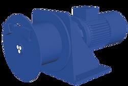 Treuil électrique 400V FD, compact, rapide, pour applications treuil de manutention treuil de halage treuil de levage treuil de tirage treuil de traction treuil de translation va et vient