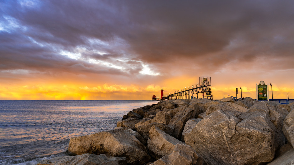 Grand Haven Sunrise