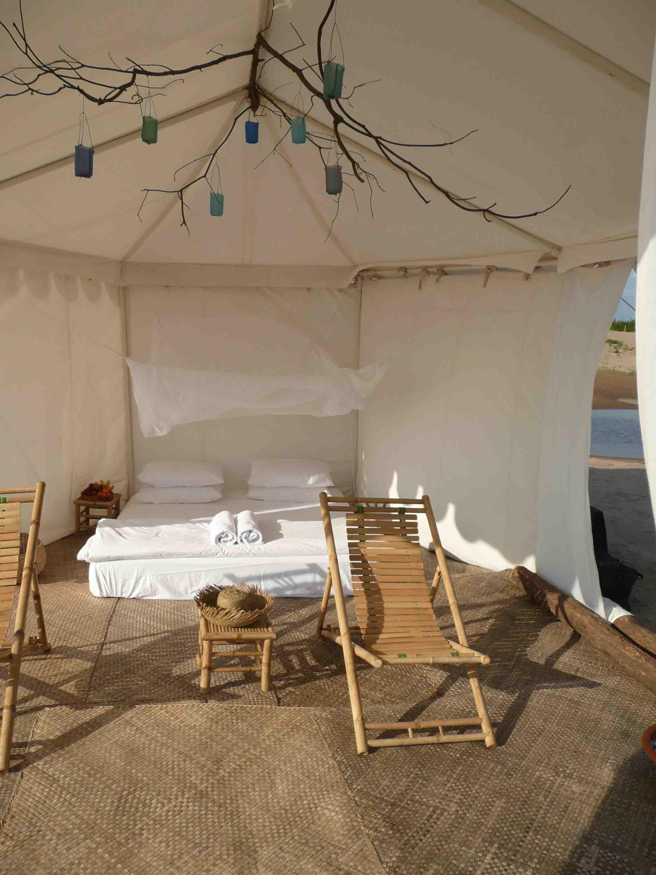 Luxury tent Cambodia