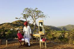 Rajasthan camp