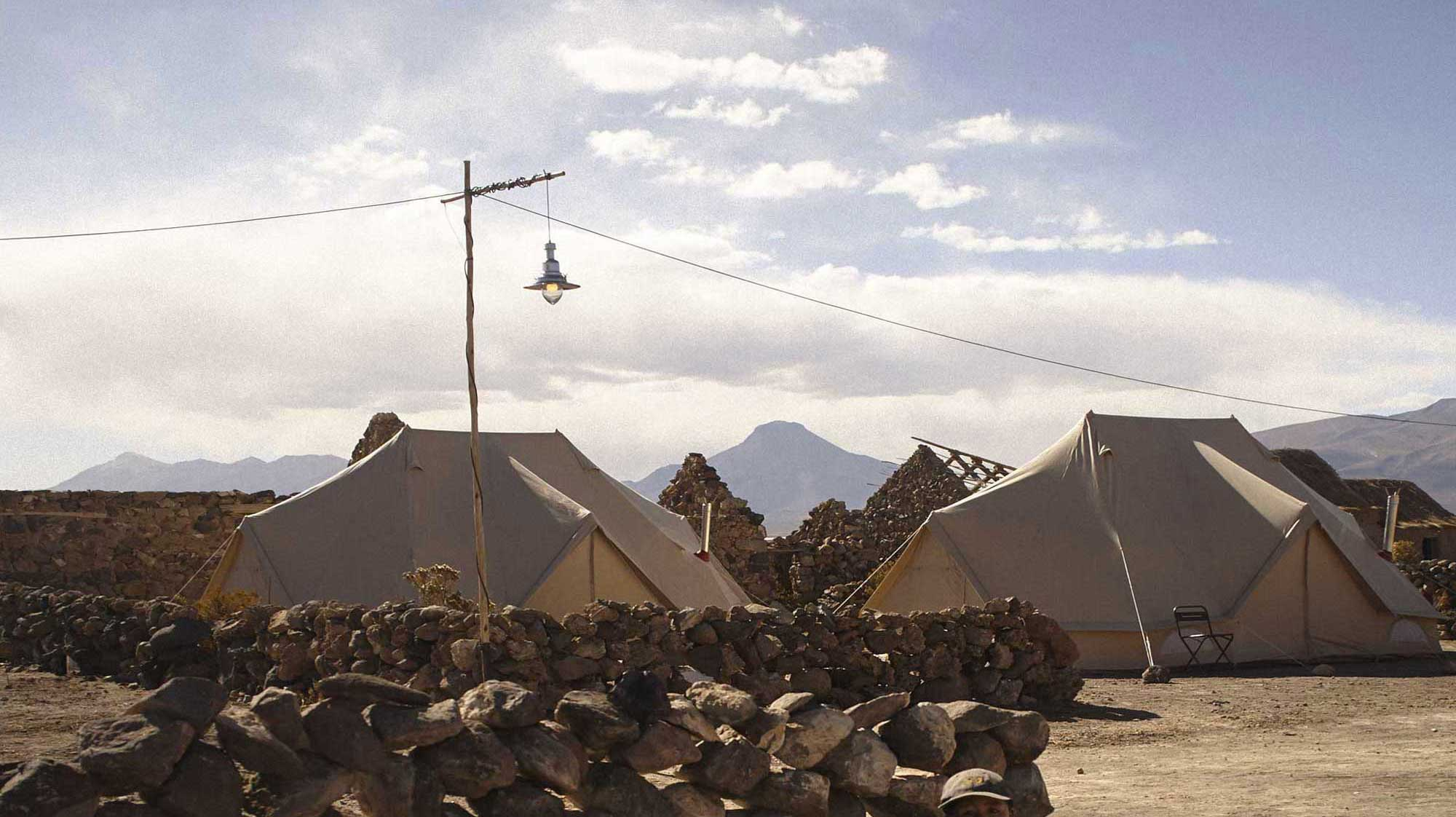 Bolivia camp