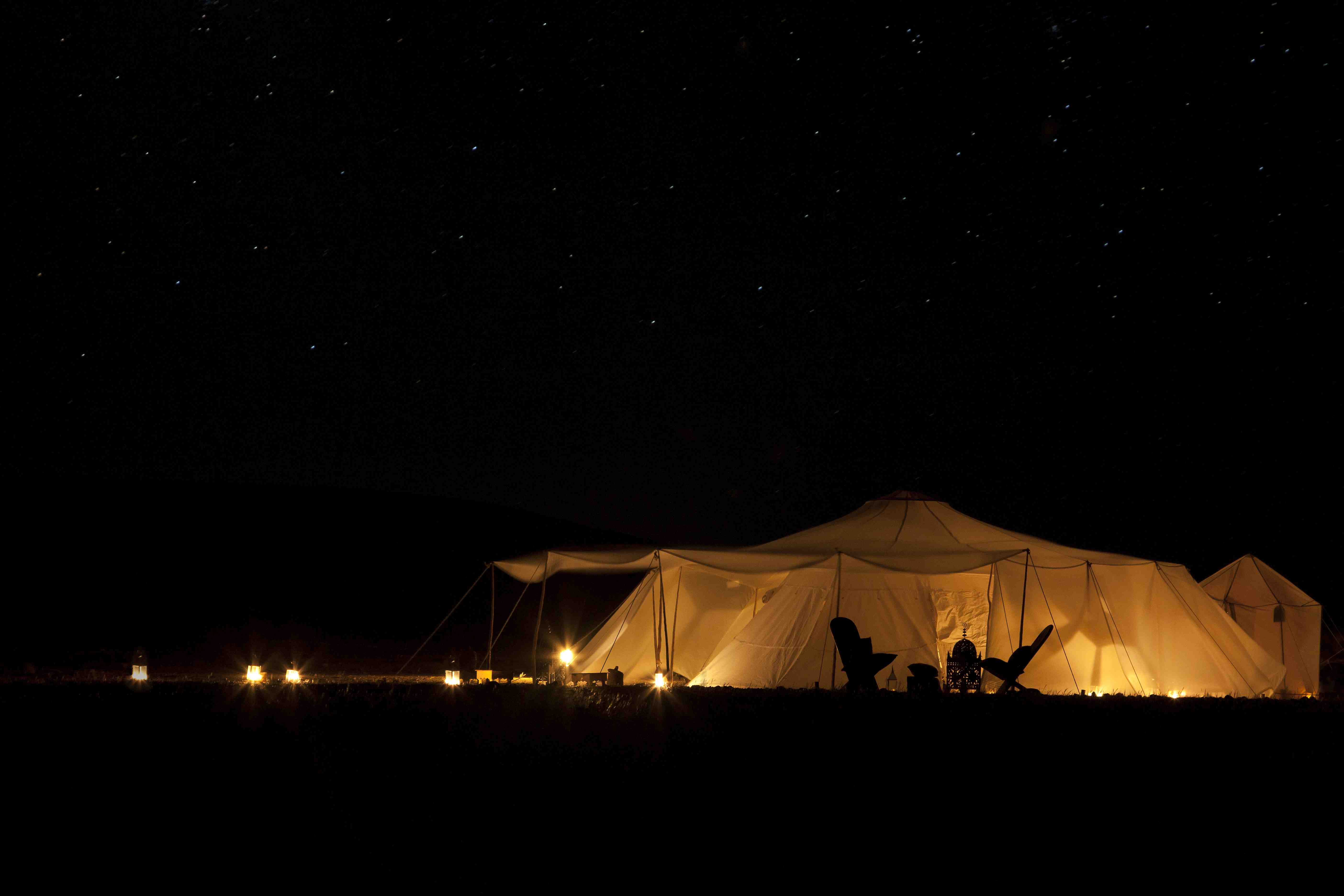 Canvas tent Morocco