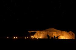 Canvas tent Morocco