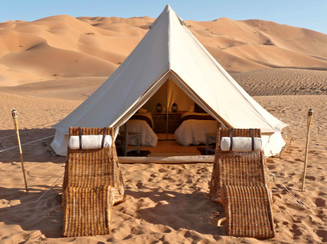 Bell tent Oman