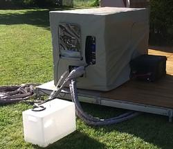 Water treament portable unit